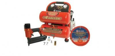 "2.5 HP Air Compressor (8488N) & 2"" Brad Nailer (8200N) Combo Kit"