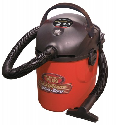 2.5 Gallon Wet•Dry Vacuum / 2 Peak HP