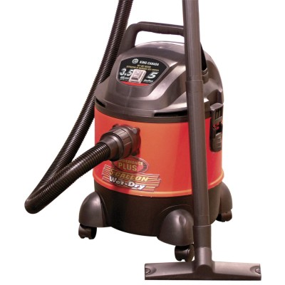 5 Gallon Wet•Dry Vacuum, 3.5 Peak HP
