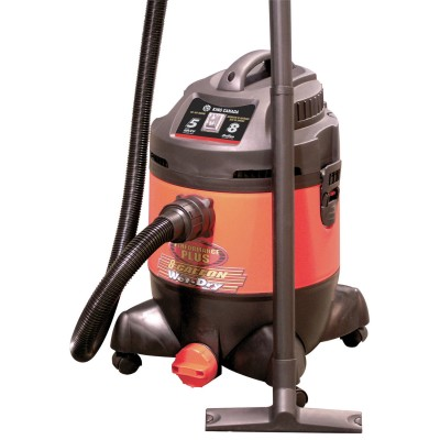 8 Gallon Wet•Dry Vacuum / 5 Peak HP