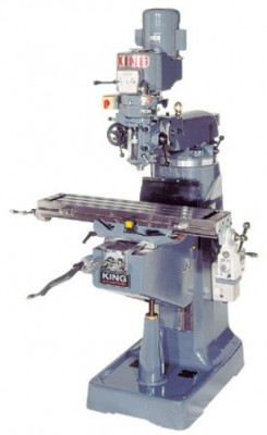 "Vertical ""Turret"" Milling Machine (220V)"