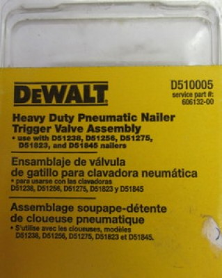 Pneumatic Nailer Trigger Valve Kit