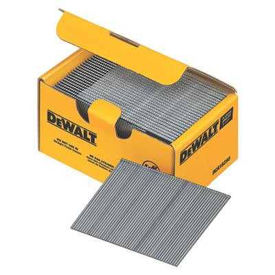 "Galvanized Heavy Duty 15 Gauge 'DA"" Finish Nail - 2 1/2"" Long (4000 PK)"