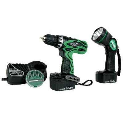 "14.4V 3/8"" Driver Drill Kit with Flashlight"
