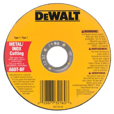 5-Inch by .045-Inch by 7/8-Inch A60T Abrasive Metal/INOX Cutting Wheel