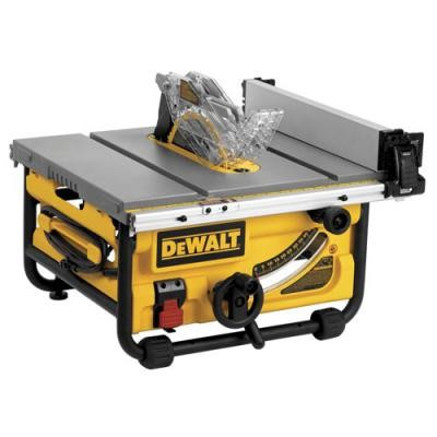 "10"" Compact Job Site Table Saw with Site-Pro Modular Guarding System"
