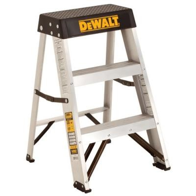 2' Aluminum Stepladder 300 lbs. Load Capacity