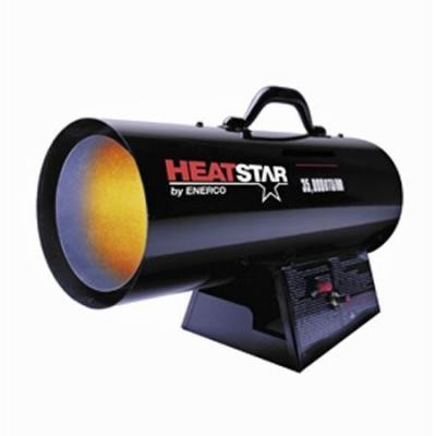 "Forced Air Propane Heater 75,000""""125,000 BTU"