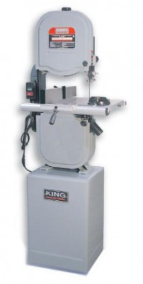 "14"" Wood Bandsaw with Resaw Guide"