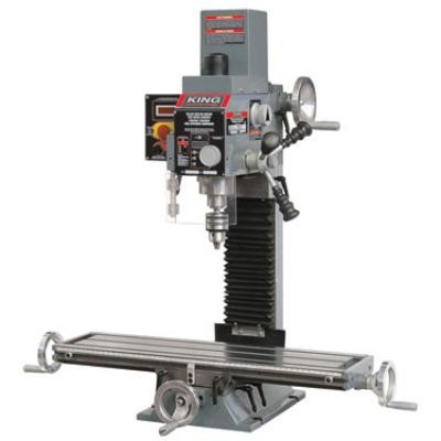 Milling Drilling Machine With Digital Readout