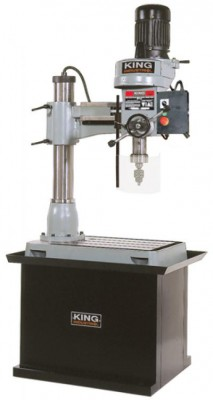 Radial Drilling Machine with Safety Guard and Stand (SS-35)