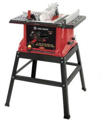 "10"" Table Saw with Riving Knife"