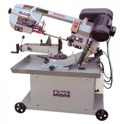 "7"" x 12"" Dual Swivel Metal Cutting Bandsaw"