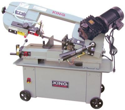 "7"" x 12"" Metal Cutting Bandsaw With Gear Drive"