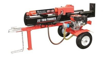 22 Ton Horizontal - Vertical 6.5 HP Gas Log Splitter