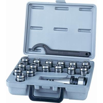 18-Pc. Collet Set ISO40 Taper