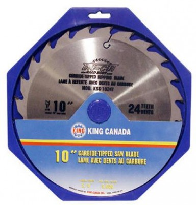 "10"" Tungsten Carbide Tipped ""HARD PLATE"" Saw Blade ""Ripping"""