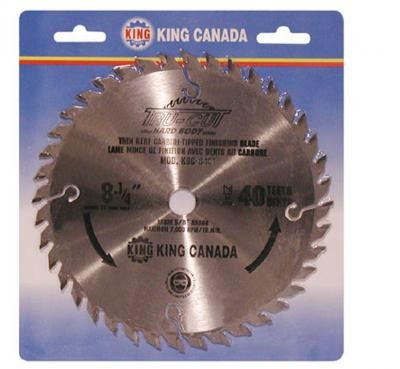 "8 1/4"" Tungsten Carbide Tipped ""HARD PLATE"" Saw Blade ""Finishing"""