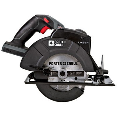 Tradesman 18V Cordless 6-1/2-in Circular Saw with Laser (Bare Tool)