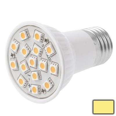 E27 3W Warm White 15 LED 5050 SMD Corn Light Bulb, AC 220-240V