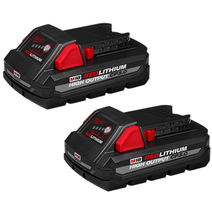 M18™ REDLITHIUM HIGH OUTPUT™ CP3.0 Battery 2-Pack