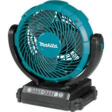 Cordless or Electric Jobsite Swing Fan