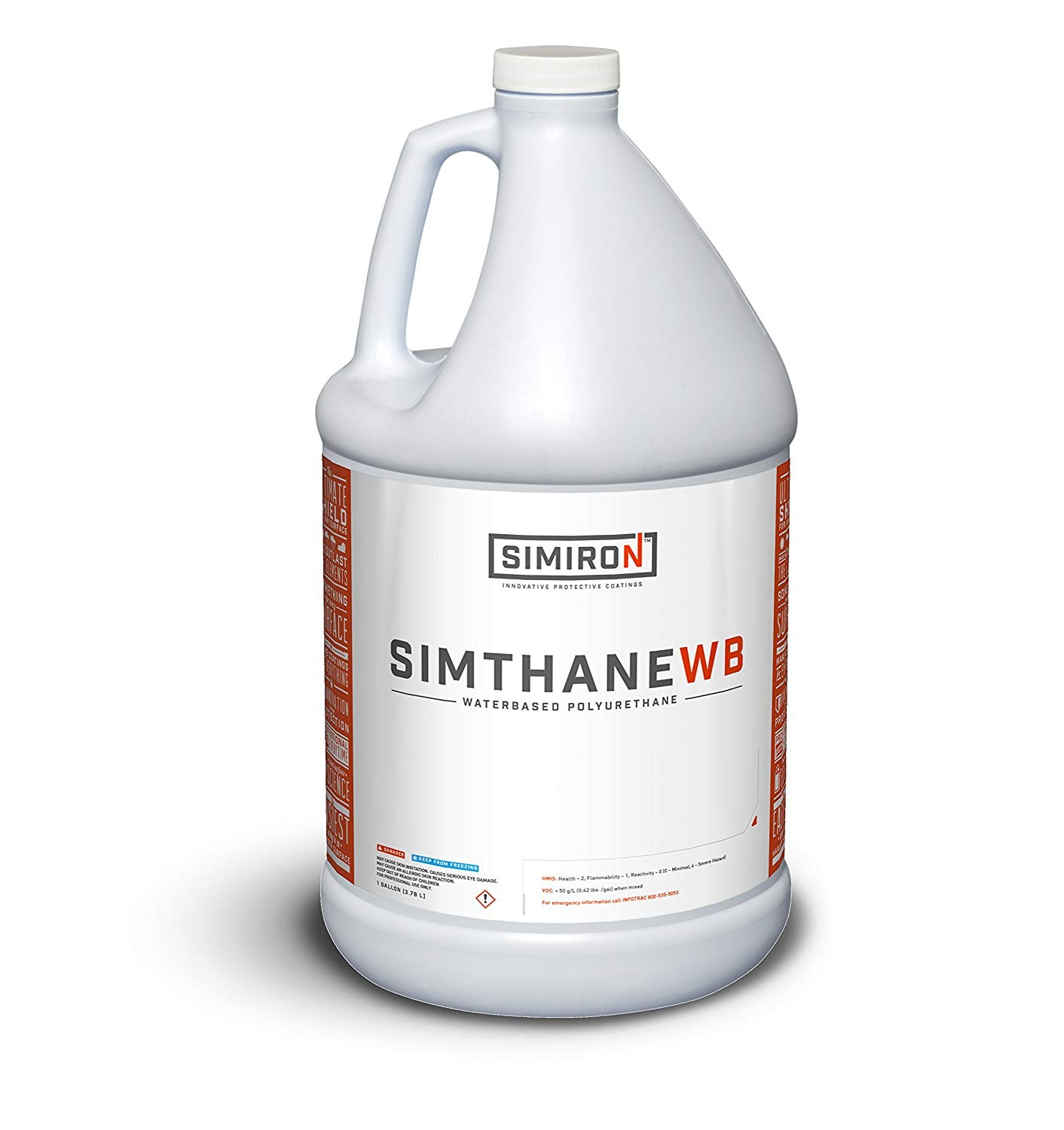 Simthane WB Waterbased Polyurethane - 1 gallon - Satin